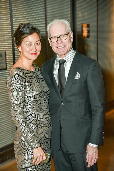 Jeanie Lee, Tim Gunn, Standing Ovation for DC Public Schools, The Anthem at the Wharf, February 8, 2018. Photo by Ben Droz.