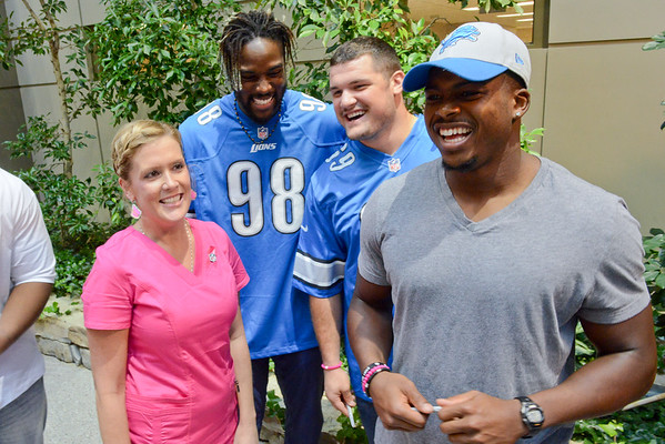 Detroit Lions Breast Cancer Awareness Day- HFWBH