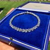 9.50ctw Round Brilliant Diamond Tennis Bracelet 21