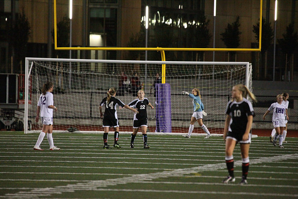 2010-09-07 IHS Girls Soccer vs Archbishop Murphy