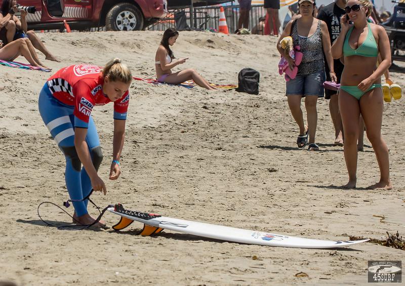 Athletic Pro Women's Surf Girl Goddesses @ The Vans US Open Huntington Beach beside the Huntington Pier!