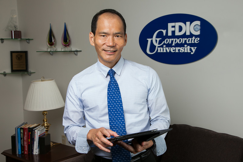 Portrait of FDIC Chief Learning Officer Thom Terwilliger.
