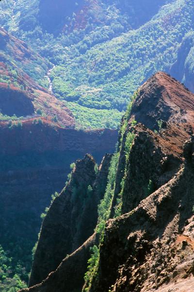 A Waimea Canyon Cliff