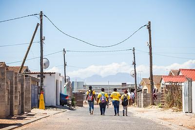 Quinton Fortune Khayelitsha Visit