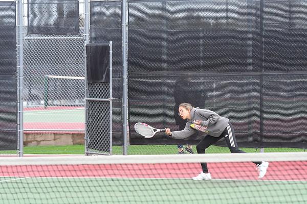 Girls Tennis at Hastings