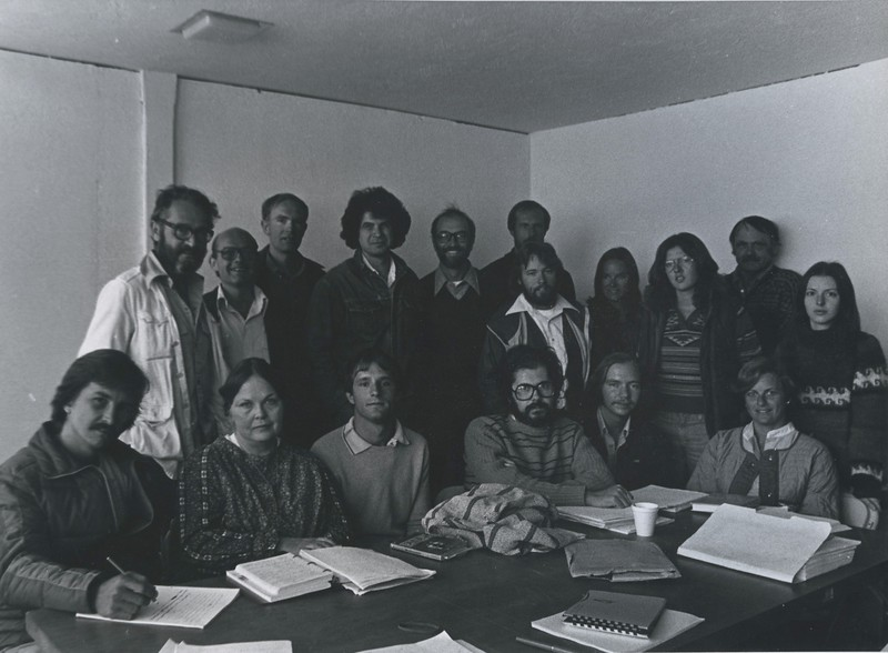1978 - group photo - Herb Gold, Oakley Hall, Kem Nunn, Mary Rose Hayes, Lesie Boone.jpeg