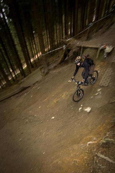 Mountain Biking—Winterberg, Germany, Oct 2010