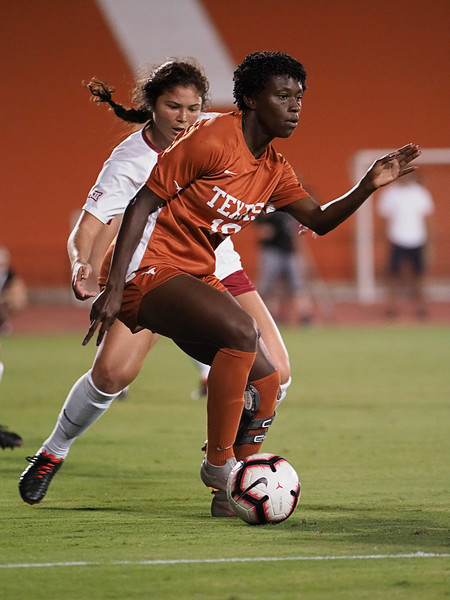 University of Texas Soccer vs. Oklahoma 10.12.2018