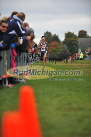 D1 Boys' Finish - 2014 Portage Invite