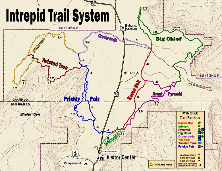 Dead Horse Point State Park (Intrepid Trail System)