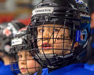 McKnight Mustangs Blue Lightning & Calgary Canucks