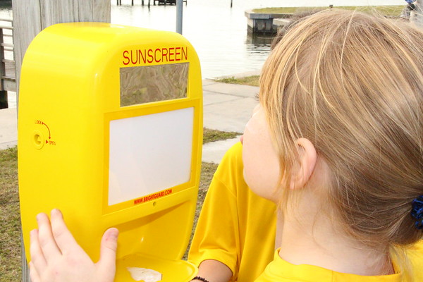Sunscreen Dispenser and Shade Project