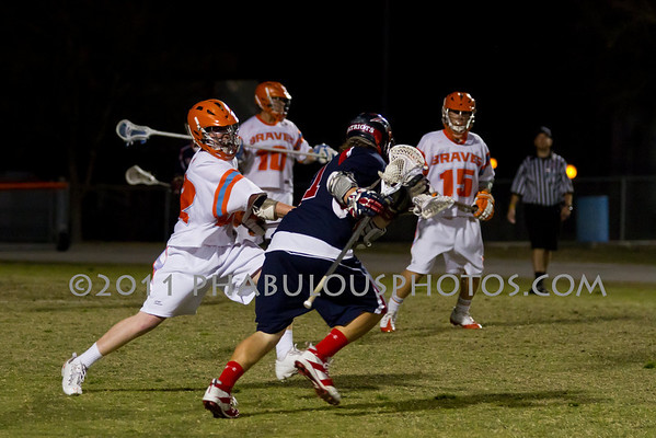 Boone Varsity Lacrosse #10 - 2011