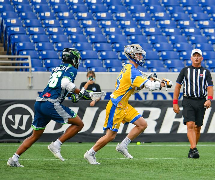 July 24, 2020 Annapolis, MD Navy-Marine Corps Memorial Stadium Connecticut Hammerheads vs Chesapeake Bayhawks. Photography Credit: Alex McIntyre