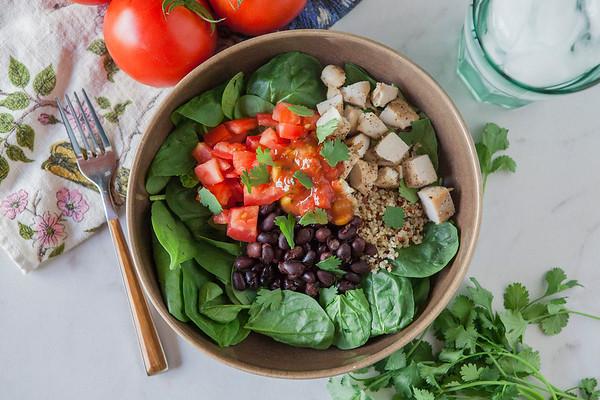 2017.06.05 Chicken Quinoa Taco Salad