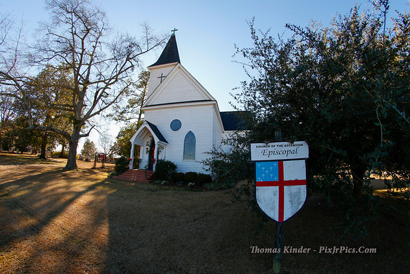 Church of the Ascension, Hagood, 12/25/14