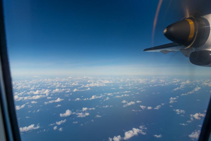 Flying to Tanimbar