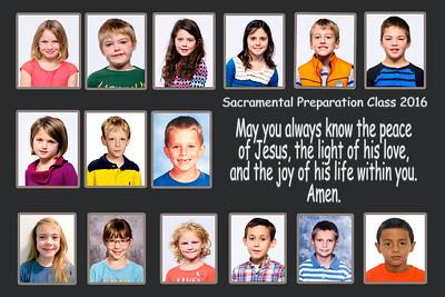 2016 Sacramental Prep Class