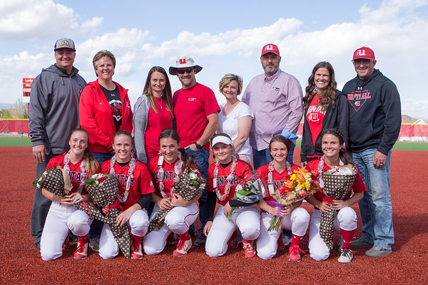 Softball: Uintah Senior Night May 2, 2019