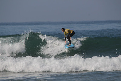 Surfing in Morocco, 2017