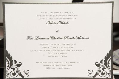 Edwards/Mathews Wedding