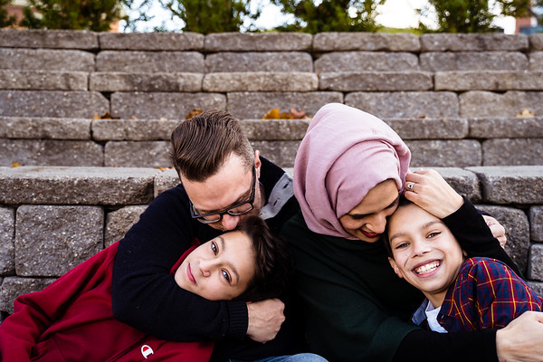 Saira, David, Yaseen + Hamza