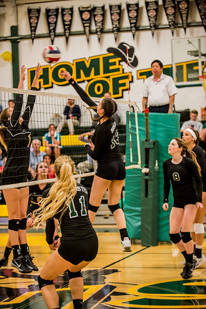 171026 GHS VARSITY WOMEN'S VOLLEYBALL  (LIVERMORE MATCH)