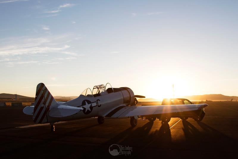 Dawn. T-6 Pace Plane Tow