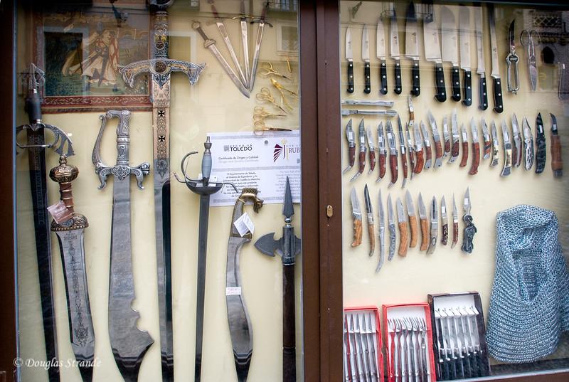 Wed 3/09 in Toledo: Famous Toledo steel blades
