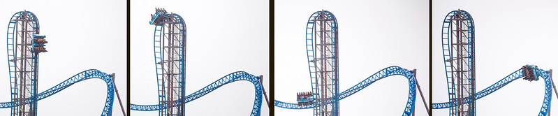 Fun, scary ride.  (Blow up to full size to see riders faces.)
