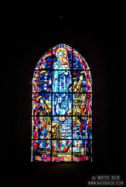 Sainte-Mere-Eglise Church 5   Photography by Wayne Heim
