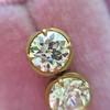2.23ctw Old European Cut Diamond Stud Earrings 23