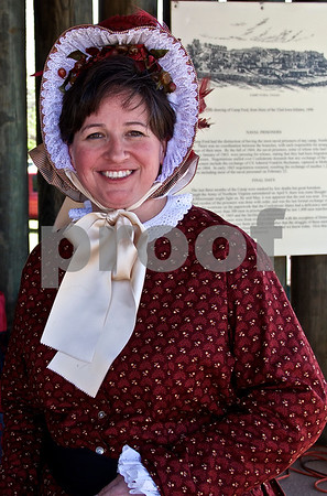 3/28/15 Camp Ford 1860's Living History by Linden Black