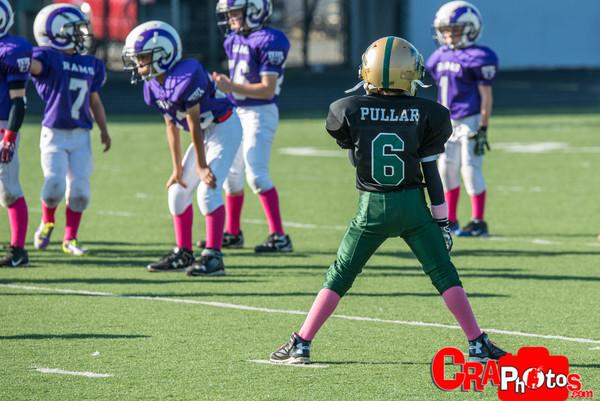 Blazers vs Rams - Minors (Blk)