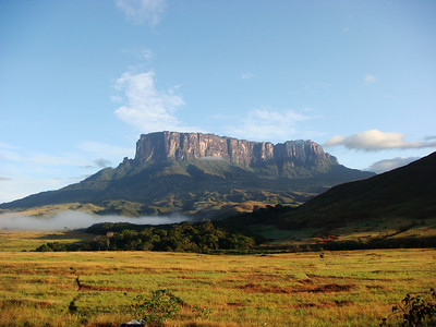 The Lost World (Mt. Roraima, Venezuela/Guyana/Brazil)