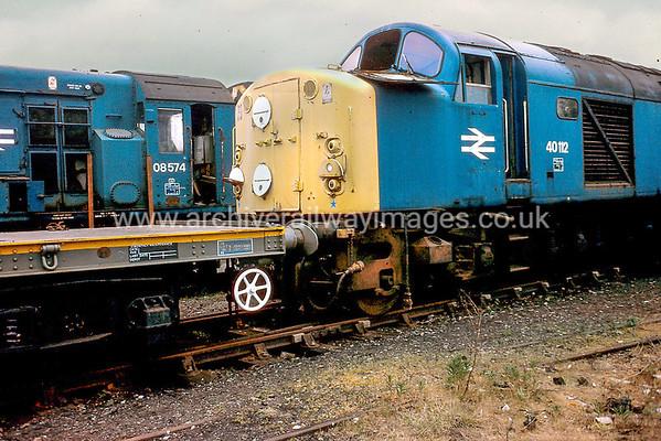 Class 40 Diesel Locomotives