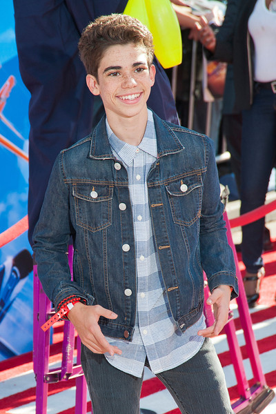 HOLLYWOOD, CA - AUGUST 05: Actor Cameron Boyce arrives at the Los Angeles premiere of 'Planes' at the El Capitan Theatre on Monday August 5, 2013 in Hollywood, California. (Photo by Tom Sorensen/Moovieboy Pictures)