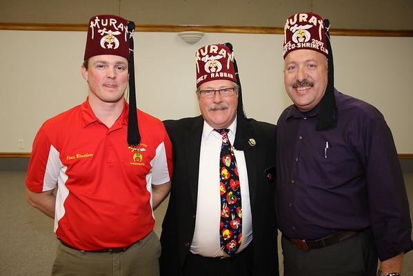 Rolling Hills & Scott County Shrine Clubs Installation 2-11-15