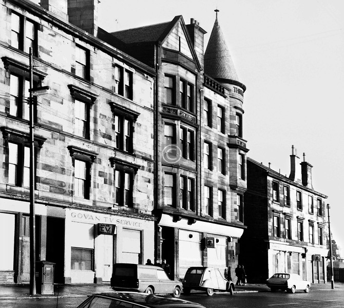 Govan Rd at Three Ell Lane.   