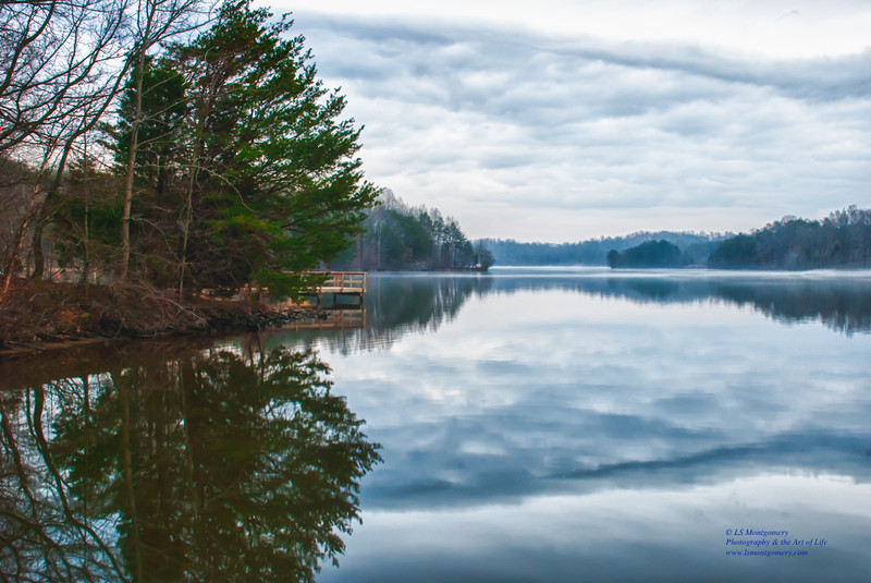 Late Afternoon at Reidsville  Lake, NC