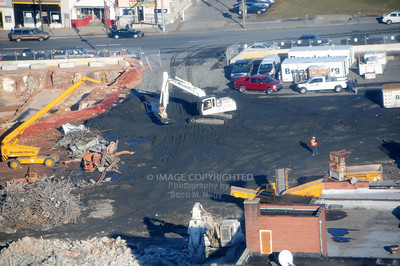 01/30/12 Allentown Arena Site Razing