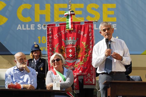Inaugurazione Cheese 2015