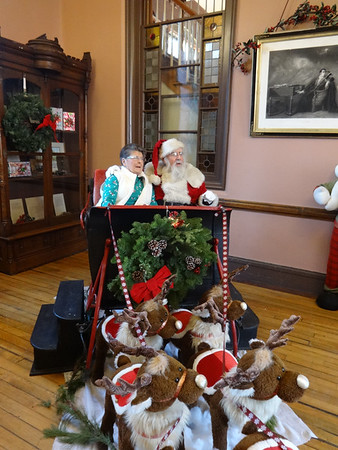 Here comes Santa Claus - December 8, 2018