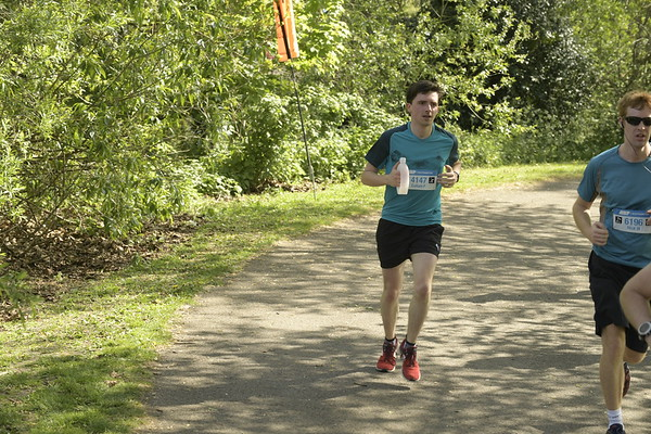 Southampton Marathon/Half - 9 miles.