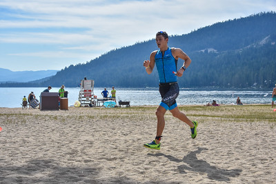 Donner Lake Tri Olympic/Half Run