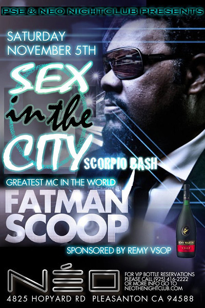 11/5 [Sex in the city with fatman scoop@Neo]