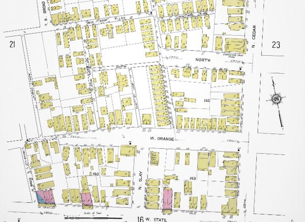 Hansontown-1913 Sanborn2.png