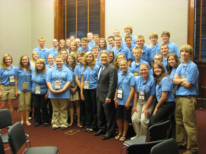 Photo Op with Senator Al Franken