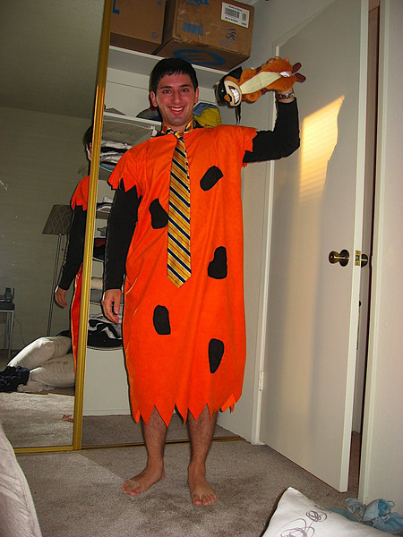Ninja Hammy and Fred Flintstone