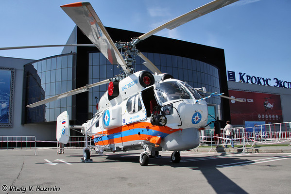 International Helicopter Industry Exhibition HeliRussia-2011